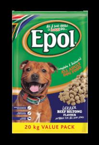 EPOL 20 kg Adult Biltong Flavour