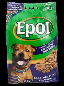 EPOL 8 kg Adult Dog Biltong Flavour
