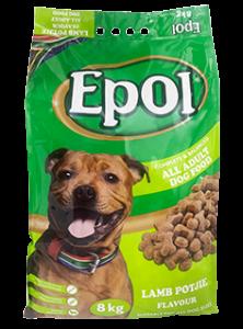EPOL 8 kg Adult Dog Lamb Potjie Flavour